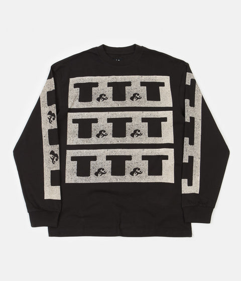 The Trilogy Tapes Long Sleeve T-Shirt - Black