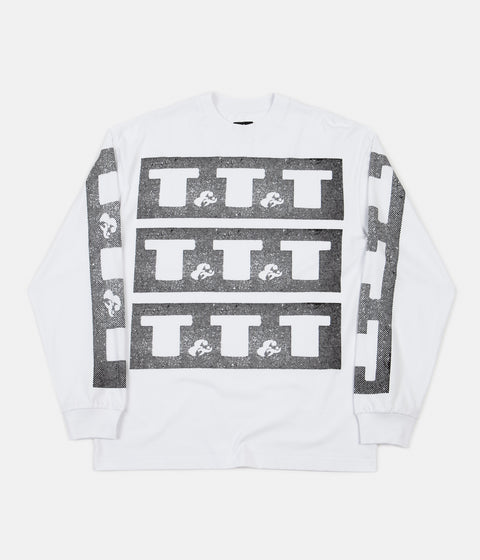 The Trilogy Tapes Long Sleeve T-Shirt - White