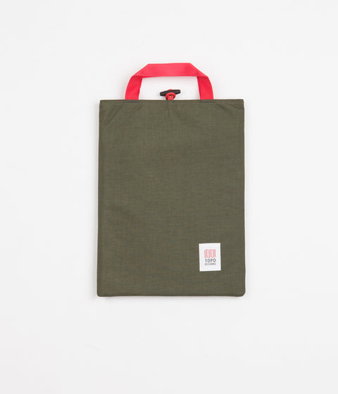 Topo Designs Laptop Sleeve - Olive