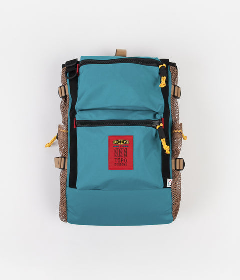 Topo Designs x Keen River Backpack - Turquoise