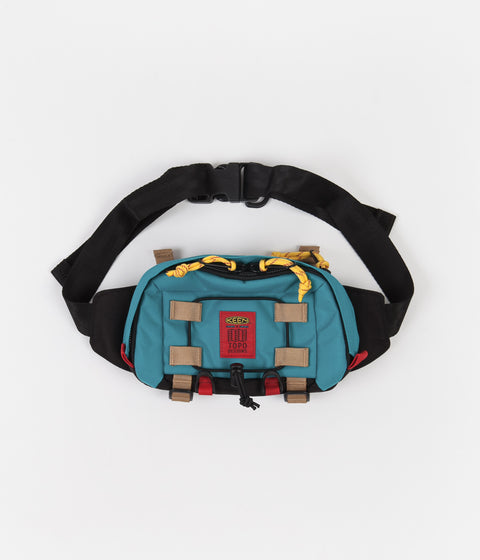 Topo Designs x Keen River Subalpine Hip Pack - Turquoise