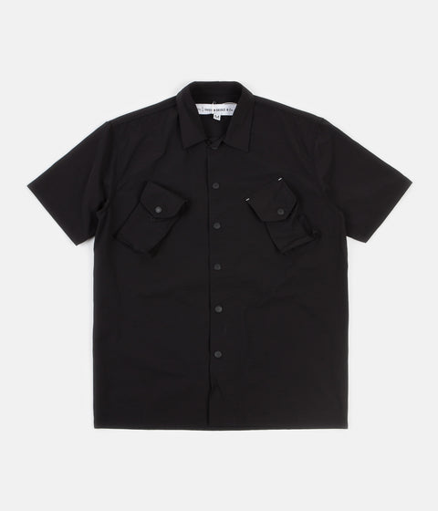 Uniform Bridge Canadian Short Sleeve Shirt - Black