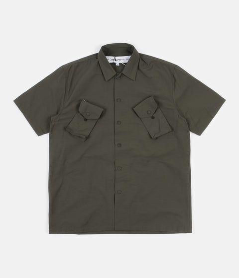 Uniform Bridge Canadian Short Sleeve Shirt - Green