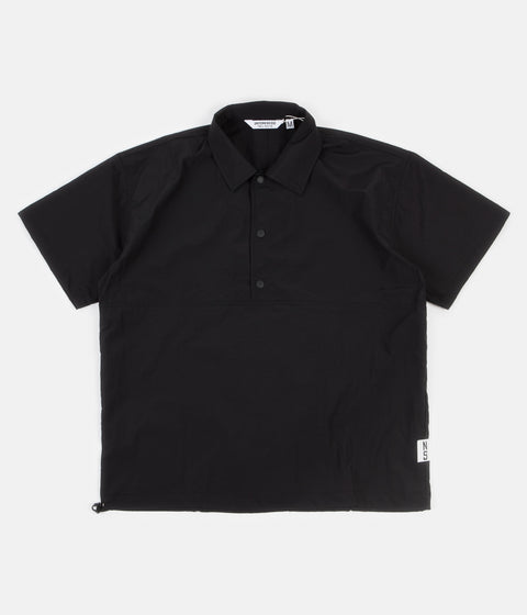 Uniform Bridge Pullover Short Sleeve Shirt - Black