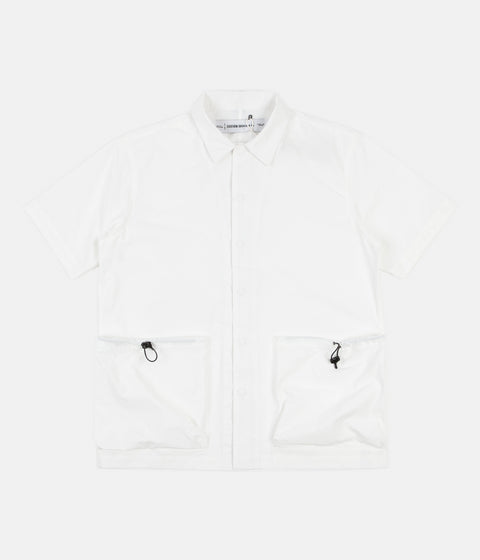 Uniform Bridge Two Pocket Short Sleeve Shirt - Off White