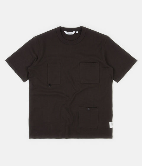 Uniform Bridge Utility Pocket T-Shirt - Charcoal