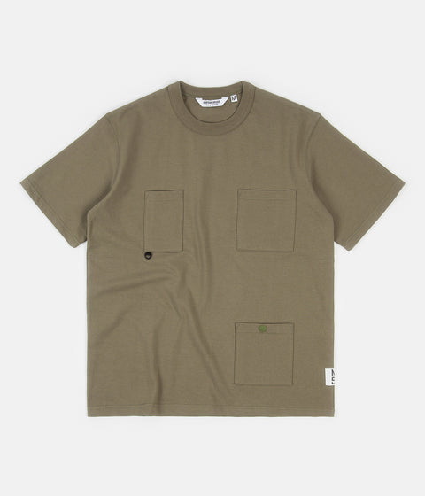 Uniform Bridge Utility Pocket T-Shirt - Sage Green