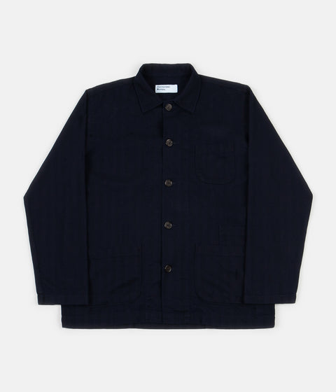 Universal Works Bakers Overshirt - Indigo
