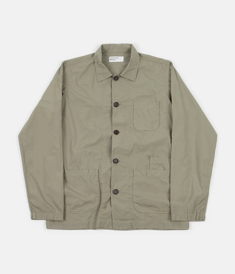 Universal Works Bakers Overshirt - Laurel