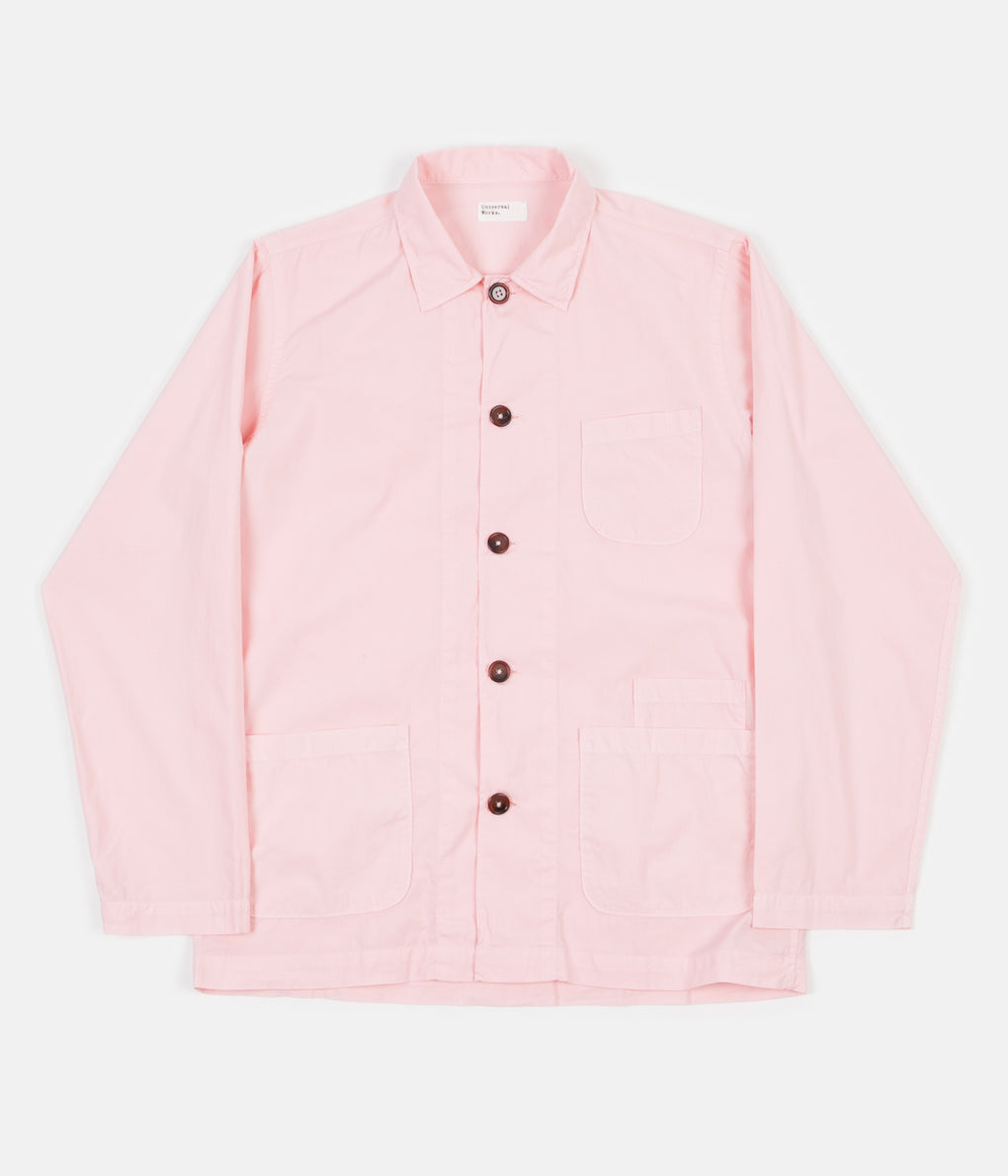 Universal Works Bakers Overshirt - Strawberry