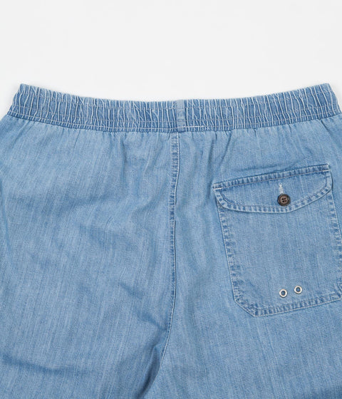 Universal Works Beach Shorts - Indigo