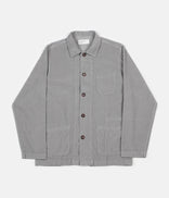 Image for Universal Works Cord Bakers Overshirt - Pale Grey