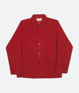 Image for Universal Works Cord Bakers Overshirt - Red