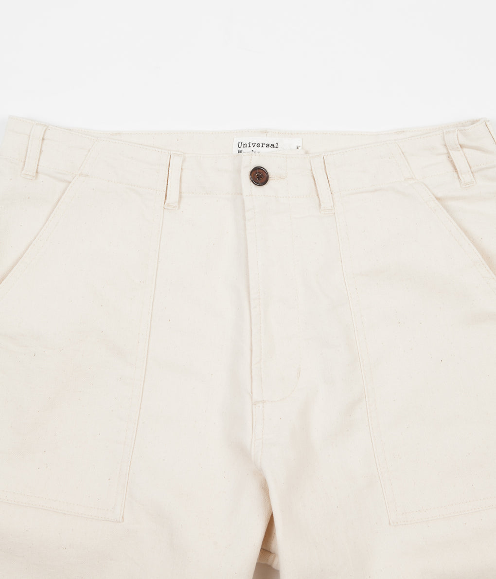 Universal Works Fatigue Trousers - Ecru