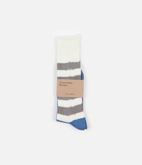 Universal Works Games Socks - Blue