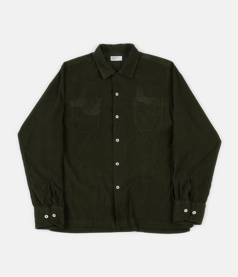 Universal Works Garage Shirt II - Green