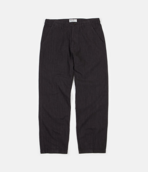 Universal Works Loose Trousers - Charcoal