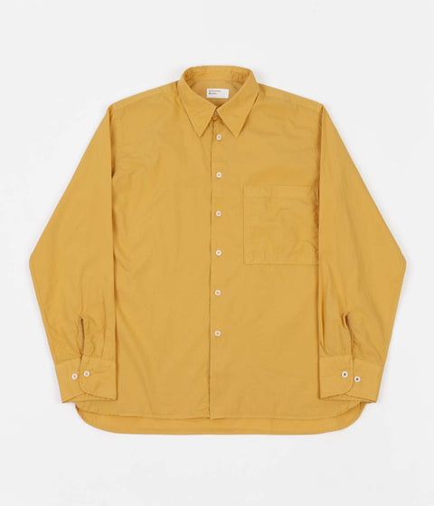 Universal Works Poplin Big Pocket Shirt - Gold