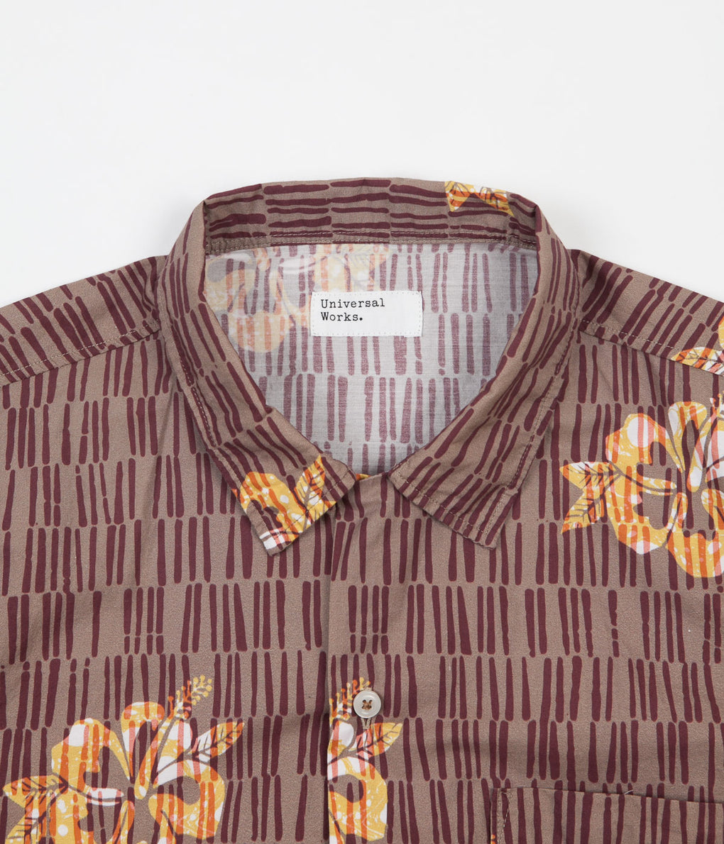 Universal Works Road Shirt - Flower