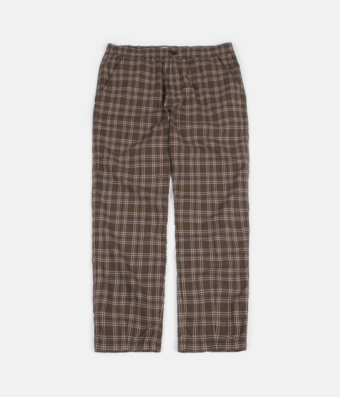 Universal Works Track Trousers - Tartan Olive