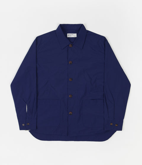Universal Works Travail Shirt - Blue