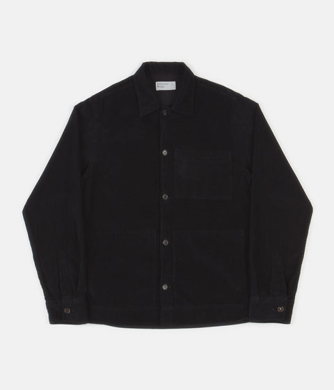 Universal Works Uniform Shirt - Black