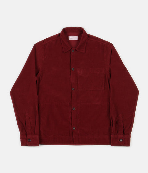 Universal Works Uniform Shirt - Claret