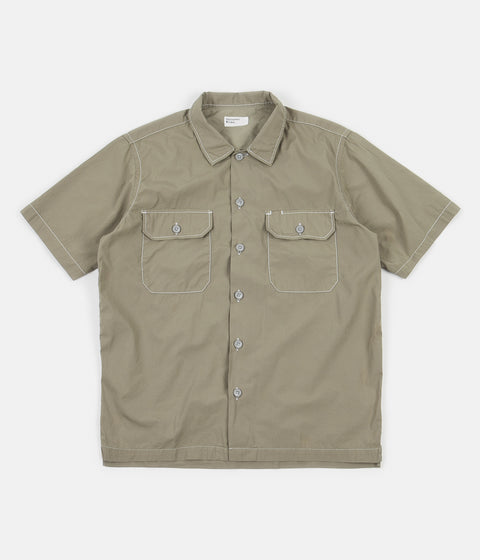Universal Works Utility Short Sleeve Shirt - Laurel