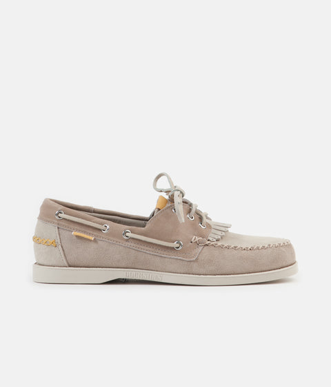 Universal Works x Sebago Portland Suede Shoes - Cream