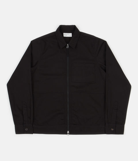 Universal Works Zip Uniform Jacket - Black