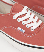 Vans Authentic 44 DX Anaheim Factory Shoes - OG Rust