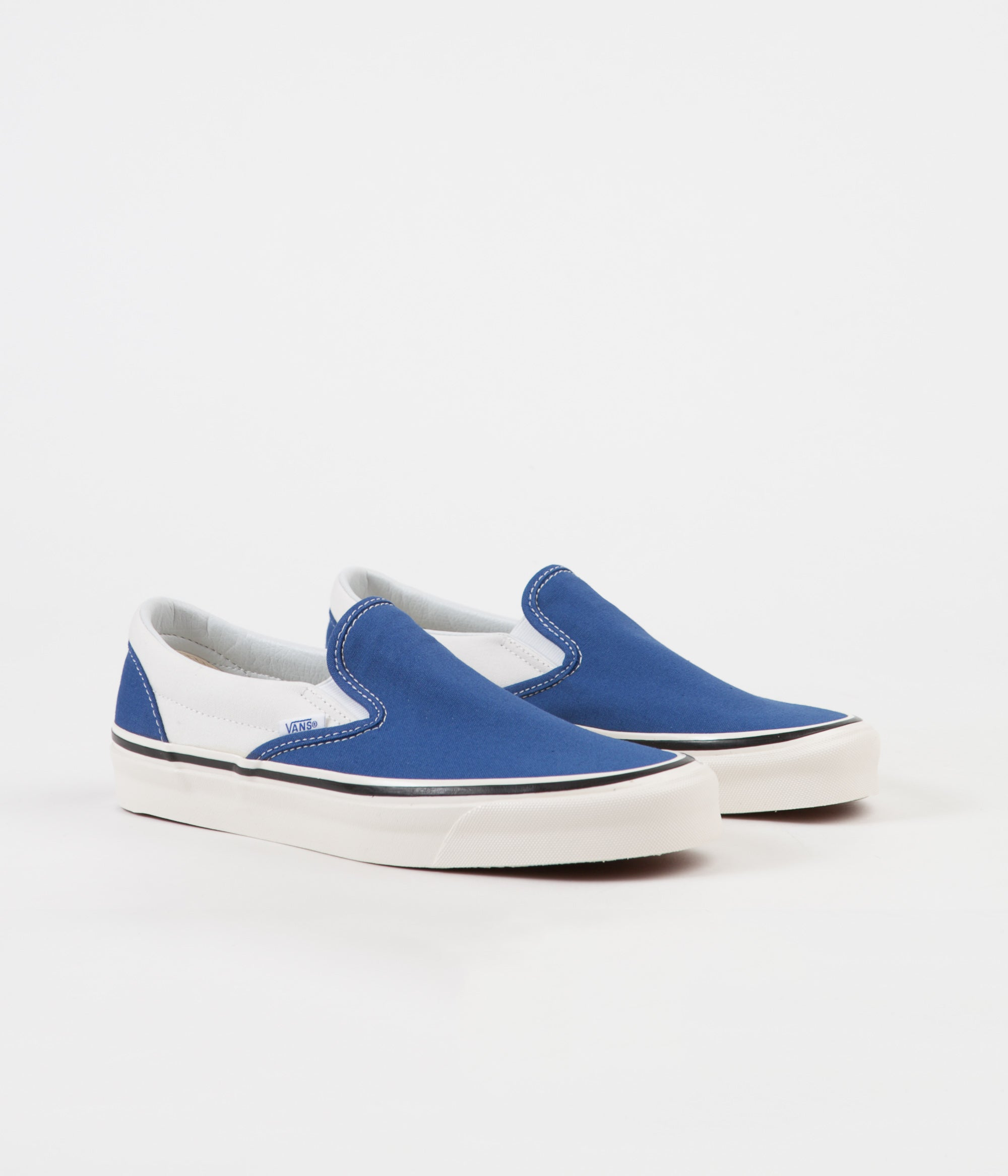 ... Vans Classic Slip-On 98 DX Anaheim Factory Shoes - OG Blue   White ... 3cd678a5de69