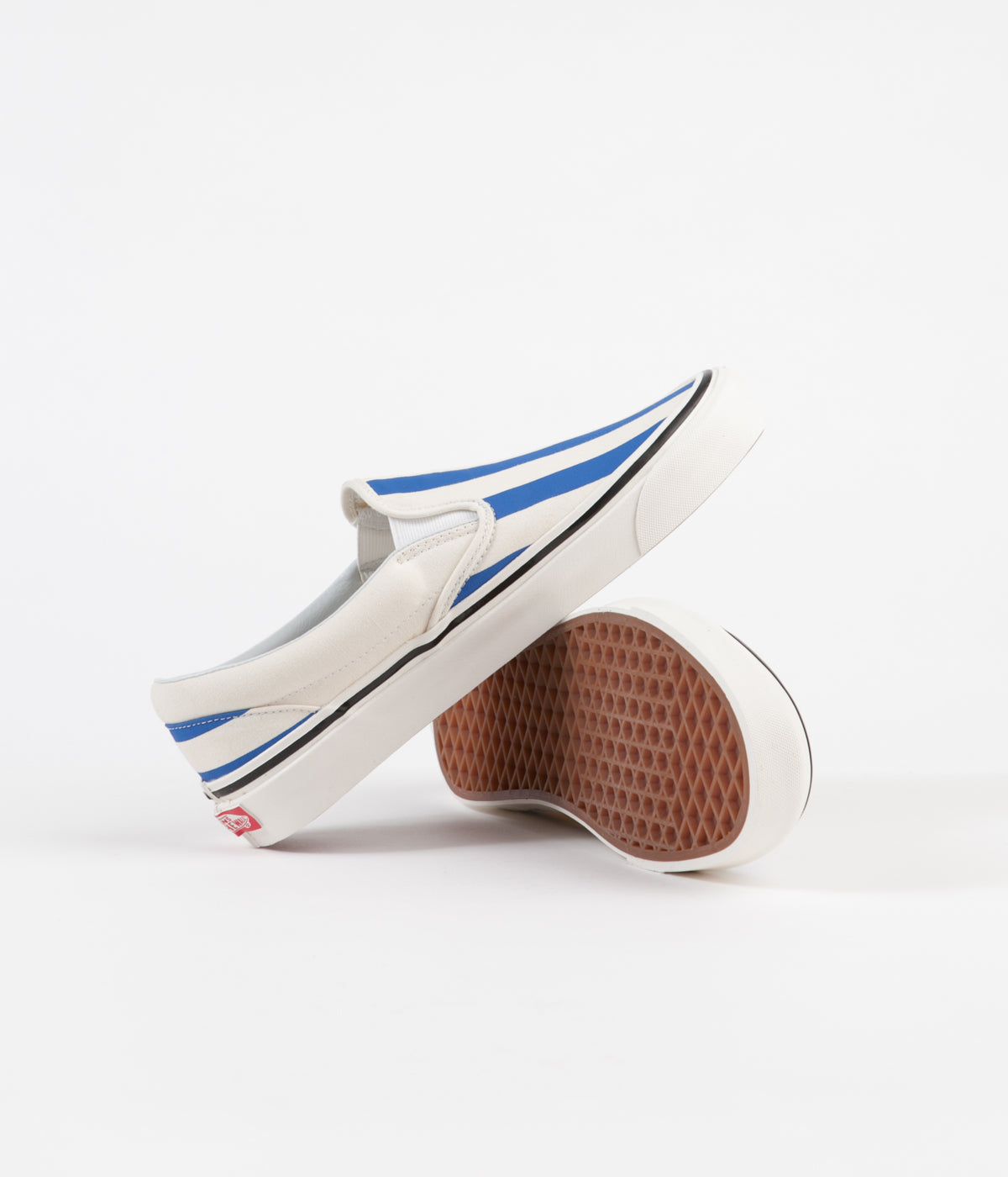 Vans Classic Slip On 98 DX Anaheim Factory Shoes OG White