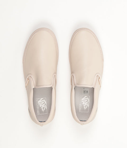 ac628b0d0e ... Vans Classic Slip On Leather Shoes - Whisper Pink   Mono ...