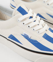Vans Era 95 DX Anaheim Factory Shoes - OG White / OG Blue / Big Stripes