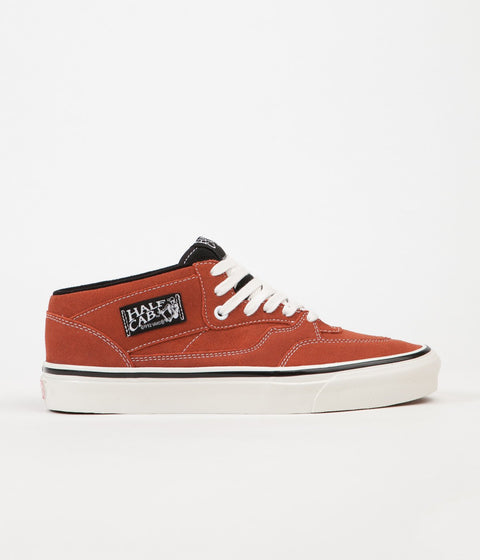 Vans Half Cab 33 DX Anaheim Factory Shoes - OG Rust