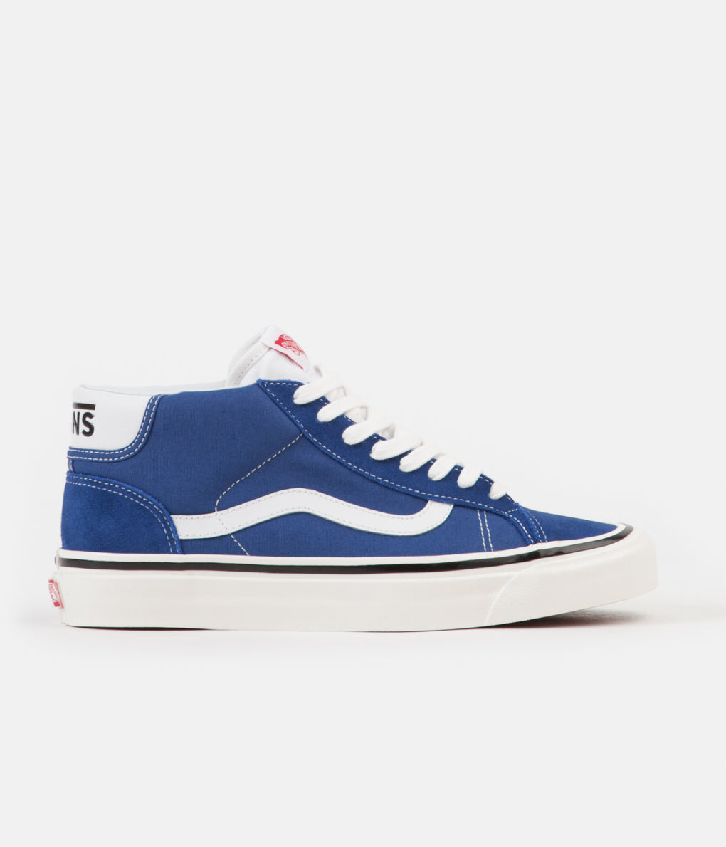 Vans Mid School 37 DX Anaheim Factory Shoes - OG Blue