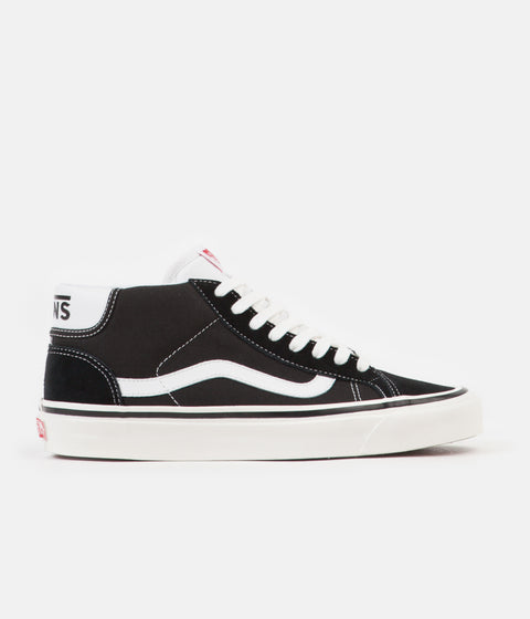 Vans Mid Skool 37 DX Anaheim Factory Shoes - Black / White