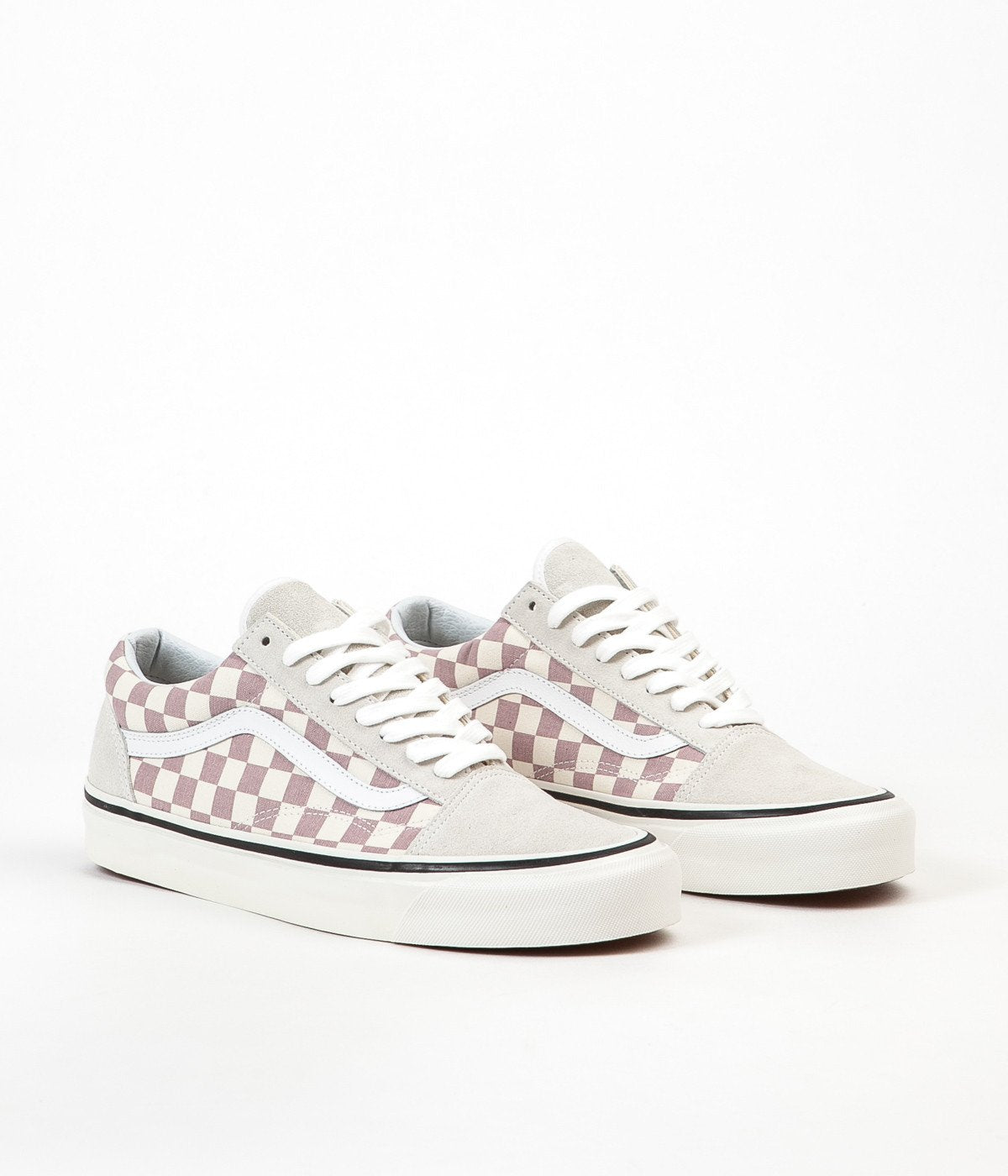 ffe61f62e1 ... Vans Old Skool 36 DX Anaheim Factory Shoes - OG Mauve   Check ...