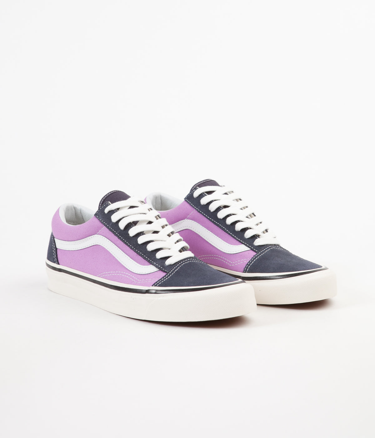 ... Vans Old Skool 36 DX Anaheim Factory Shoes - OG Navy   OG Lilac ... 4db8995fc95f