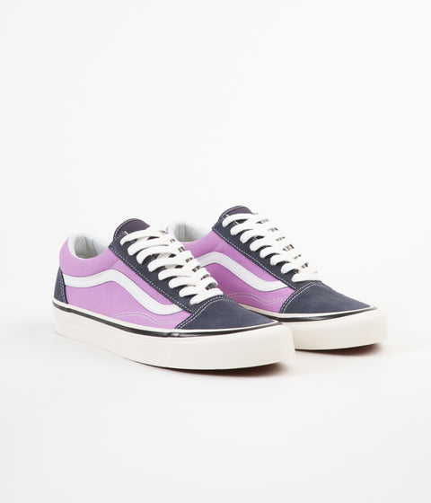 Vans Old Skool 36 DX Anaheim Factory Shoes - OG Navy / OG Lilac