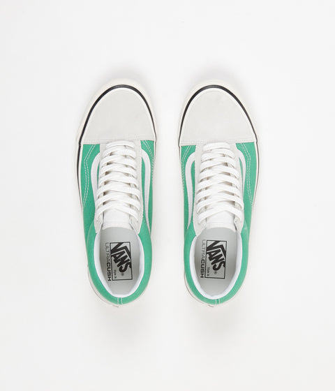 Vans Old Skool 36 DX Anaheim Factory Shoes - White / OG Jade