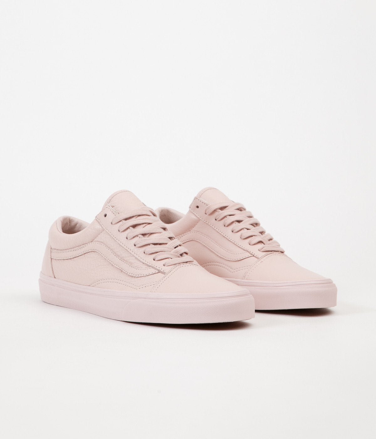 ... Vans Old Skool Leather Shoes - Mono   Sepia Rose ... c5cc3c23e