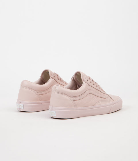 Vans Old Skool Leather Shoes - Mono / Sepia Rose