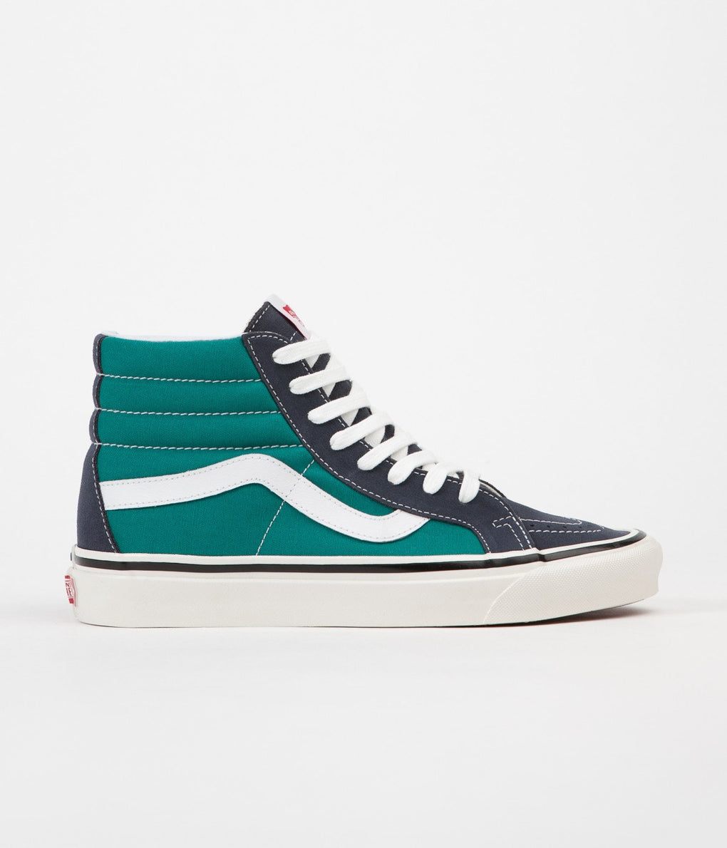 Vans Sk8-Hi 38 DX Anaheim Factory Shoes - OG Navy / OG Mallard