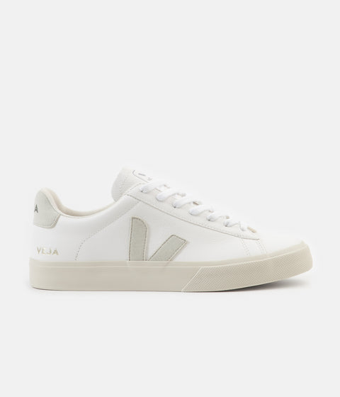 Veja Campo ChromeFree Leather Shoes - White / Natural