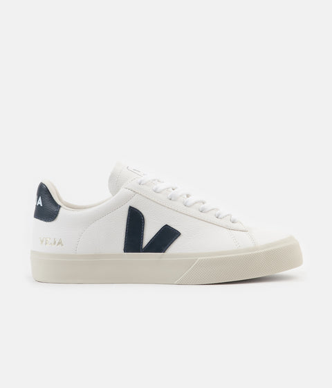Veja Campo ChromeFree Leather Shoes - White / Nautico