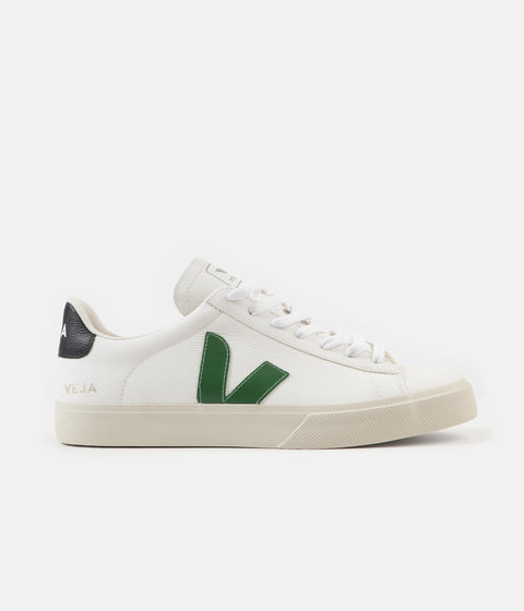 Veja Campo ChromeFree Shoes - Extra White / Emeraude / Black