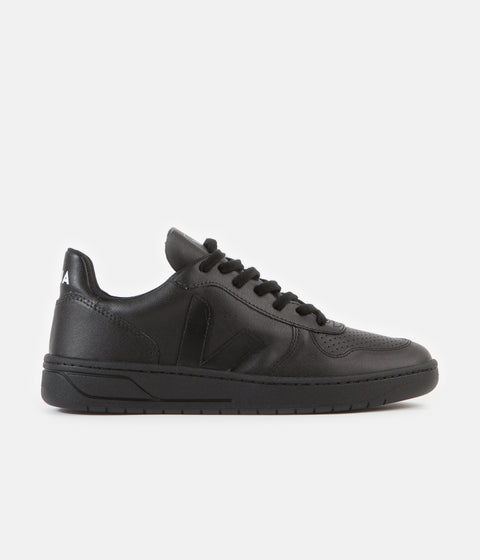 Veja V-10 CWL Shoes - Black / Black Sole