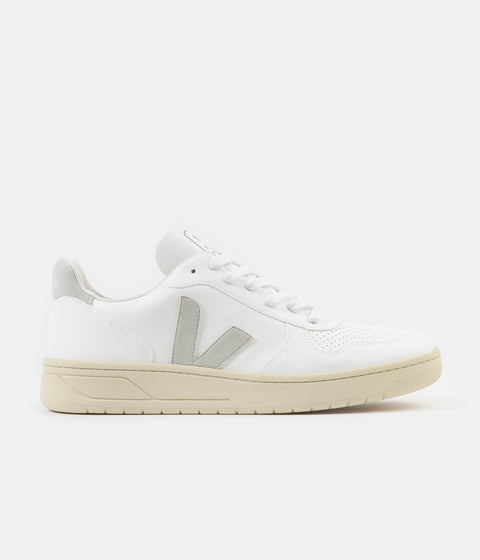 Veja V-10 CWL Shoes - White / Natural / Butter Sole